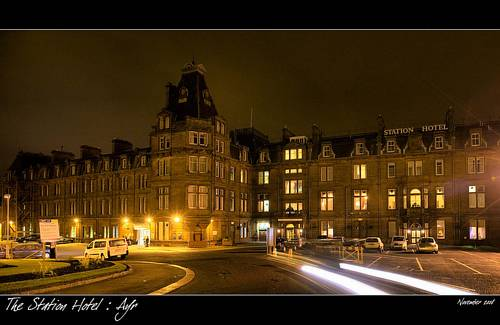 Ayr Station Hotel in