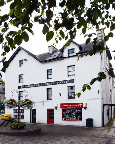 Breadalbane Arms Hotel in Scotland