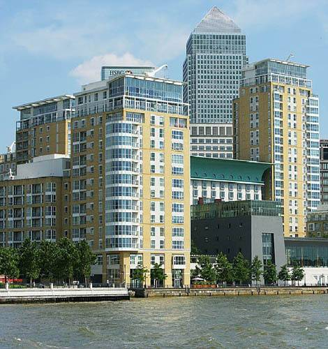 Canary Riverside Residences in London