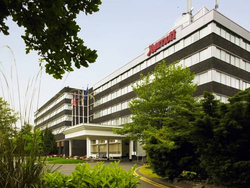 Newcastle Marriott Hotel Gosforth Park in Northumberland