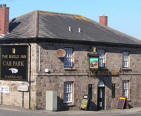 The Bugle Inn Simela in Cornwall