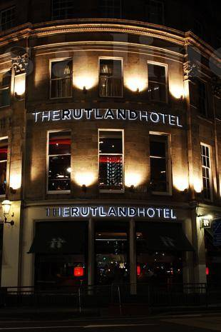 The Rutland Hotel in Edinburgh