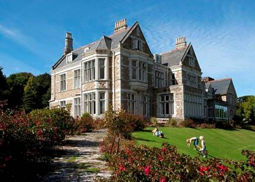 Treloyhan Manor Hotel in Cornwall