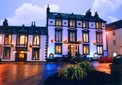 Buccleuch Arms Hotel in Scotland