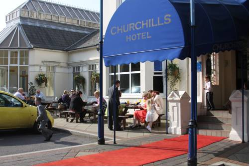 Churchills Hotel in Cardiff