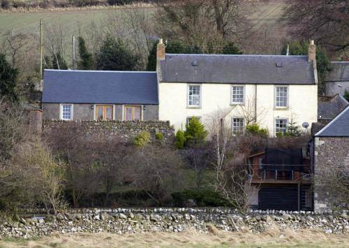 The Farmhouse At Yetholm Mill in Northumberland
