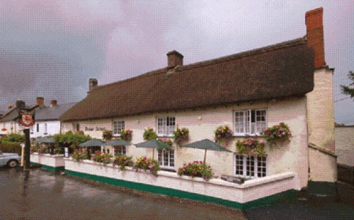 The Drewe Arms in Devon