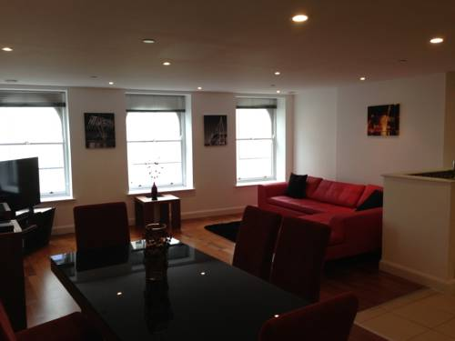 Penthouse Serviced Apartment @ David Morgan in Cardiff