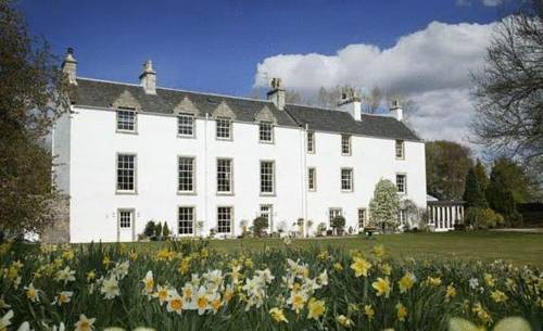 Letham House in Scotland