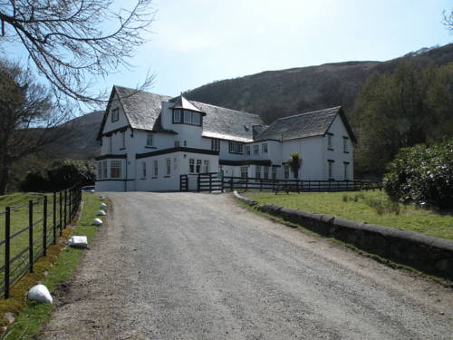Lochranza Youth Hostel in Scotland