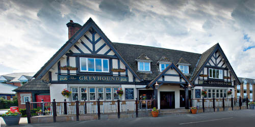 The Greyhound Hotel in Bolton