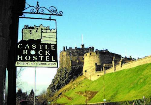 Castle Rock Hostel in Scotland