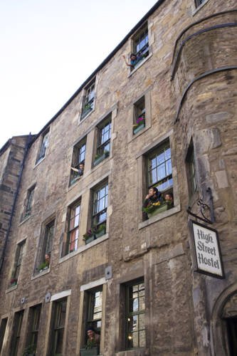 High Street Hostel in Scotland
