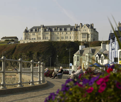 The Portpatrick Hotel in Scotland