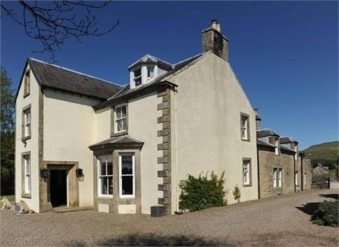 Abbotshaw House Farm BandB in Scotland