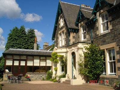 Ellangowan House Bed and Breakfast in Scotland