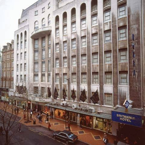 Britannia Hotel Birmingham in 