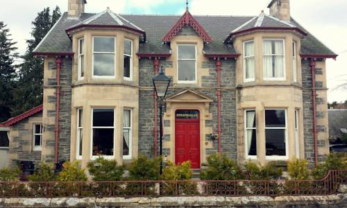 Strathallan Bed and Breakfast in Scotland