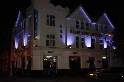 Blue Star Hotel in 