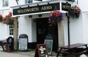 The Molesworth Arms Hotel in Cornwall