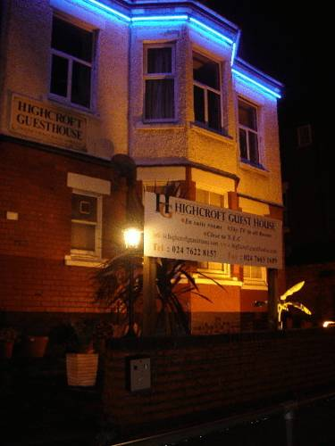 Highcroft Guest House in Coventry