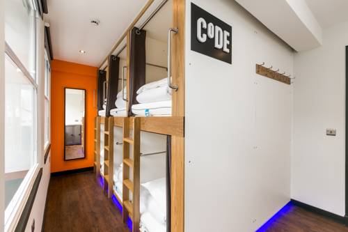 CODE - POD Hostel Edinburgh in Scotland