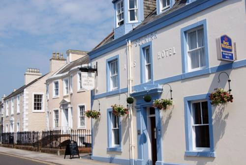 Selkirk Arms Hotel in Scotland