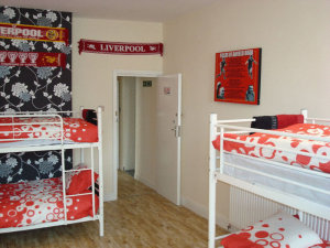 Anfield Stadium Guest House in Liverpool