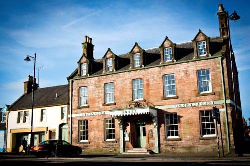 Buccleuch and Queensberry Arms Hotel in Scotland