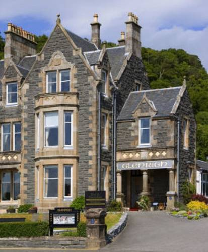 Glenrigh Guest House in Scotland