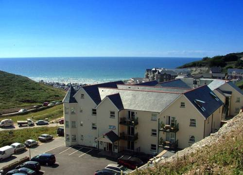 Beachcombers Apartments in Cornwall