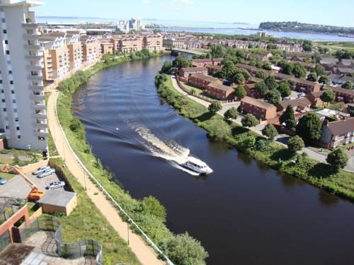 Riverbank Apartments in Cardiff
