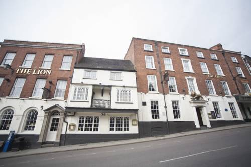Lion Hotel Shrewsbury History The Lion Hotel Shrewsbury by