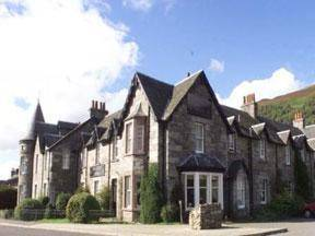 Dunalastair Hotel in Scotland