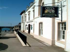 Seafield Arms Hotel on The Moray Firth Coast in Scotland