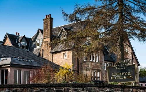 Loch Fyne Hotel and Spa in Scotland