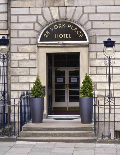 28 York Place Hotel in Edinburgh
