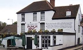 The Punch Bowl Pub in Cotswolds