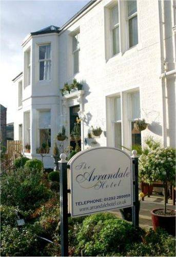 The Arrandale Hotel in Ayr