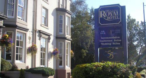 Royal Hotel- Bridge of Allan