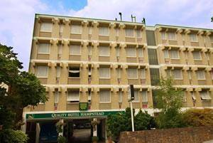 Quality Hotel Hampstead in London