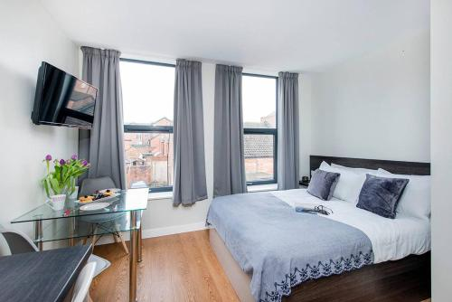 Modern Double Bedroom Apartment in Historic Chester